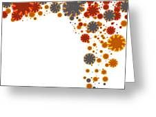 Colorful Blades Greeting Card by Atiketta Sangasaeng