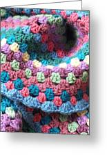 Colorful Crochet Greeting Card by Emma Manners