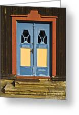 Colorful Entrance Greeting Card by Heiko Koehrer-Wagner