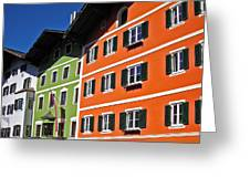 Colorful Kitzbuehel - Austria Greeting Card by Juergen Weiss