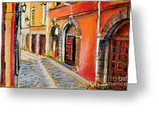 Colors Of Lyon 4 Greeting Card by Mona Edulesco