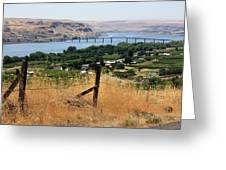 Columbia River - Biggs And Maryhill State Park Greeting Card by Carol Groenen