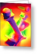 Columns Greeting Card by Mauro Celotti