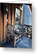 Come And Sit A While Greeting Card by Sandi OReilly