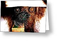 Comic Dog Greeting Card by ThiART ThiART