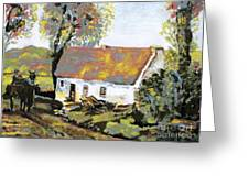 Coming Home Greeting Card by Laurel Anderson-McCallum