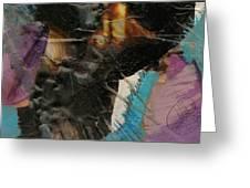 Composition Greeting Card by Margit Ilika