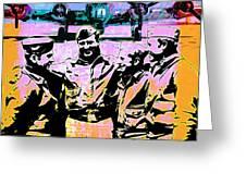 Comradeship Greeting Card by Gary Grayson