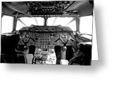 Concorde Cockpit Greeting Card by Patrick  Flynn