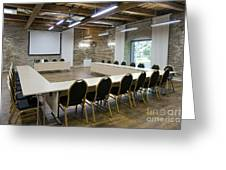 Conference Room Greeting Card by Jaak Nilson