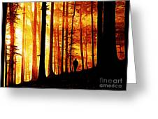 Conversing With Ancients  Greeting Card by The DigArtisT