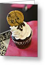 Cookie Greeting Card by Malania Hammer