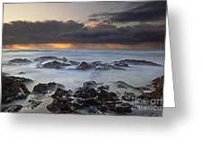 Cooks Chasm Greeting Card by Keith Kapple
