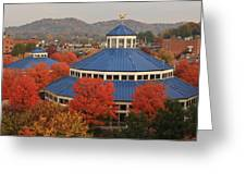 Coolidge Park Carousel Greeting Card by Tom and Pat Cory