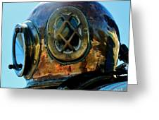 Copper Head Greeting Card by Rene Triay Photography