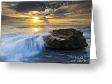 Coral Cove Greeting Card by Bruce Bain