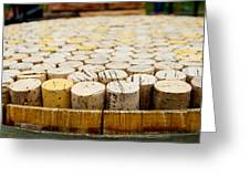Corks Greeting Card by Calvin Wray