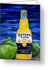 Corona Greeting Card by Patti Schermerhorn