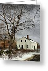 Cottage By The Mill Greeting Card by Robin-lee Vieira