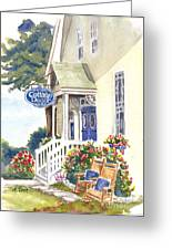 Cottage Decor Greeting Card by Andrea Timm