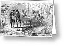 Cotton Gin, 1793 Greeting Card by Granger