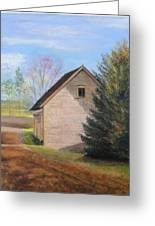 Country Journey Greeting Card by Cindy Plutnicki