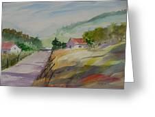 Country Road II Greeting Card by Heidi Patricio-Nadon