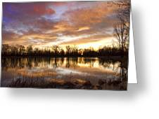 Crane Hollow Sunrise Boulder County Colorado Greeting Card by James BO  Insogna
