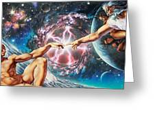 Creation Greeting Card by Adrian Chesterman