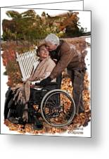 Cripple Love Greeting Card by Normand Laporte