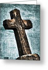 Cross Greeting Card by Darren Fisher