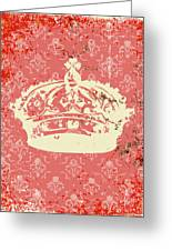Crown Greeting Card by Adrienne Stiles