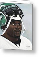 Crowning Helmet Greeting Card by L Cooper