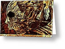 Crush The Infinity Of My Despair Greeting Card by Paulo Zerbato