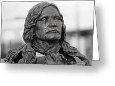 Crying Chief Niwot Greeting Card by James BO  Insogna
