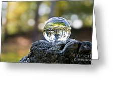 Crystal Ball I Greeting Card by Viaina