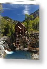 Crystal Mill 2 Greeting Card by Marty Koch