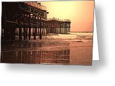 Crystal Pier  San Diego California Greeting Card by Richard Shelton