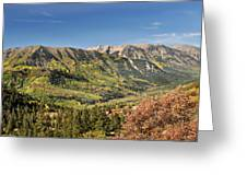 Crystal Valley Greeting Card by Marty Koch