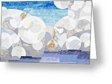 Cumulonimbus Greeting Card by Linda Beach