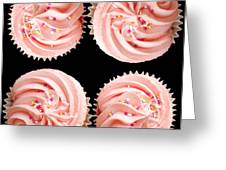 Cup Cakes Greeting Card by Jane Rix