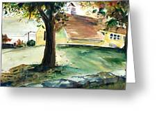 Cupola Greeting Card by Scott Nelson