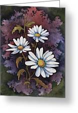 Daisies IIi Greeting Card by Sam Sidders