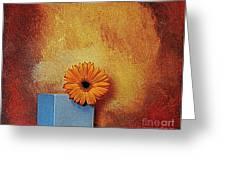 Daisy Burn Greeting Card by Marsha Heiken