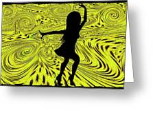 Dance Greeting Card by Bill Cannon