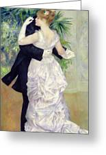 Dance In The City Greeting Card by Pierre Auguste Renoir