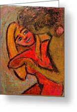 Dance Me To The End Of Love Greeting Card by Tammy Cantrell