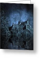 Dark Castle Greeting Card by Svetlana Sewell