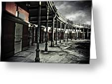 Dark Entrance Greeting Card by Pixel Perfect by Michael Moore