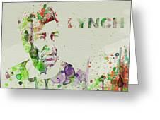 David Lynch Greeting Card by Naxart Studio